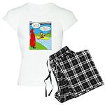 Campsite Canoeing Women's Light Pajamas