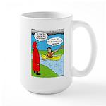 Campsite Canoeing Large Mug