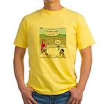 Hot SCUBA Yellow T-Shirt