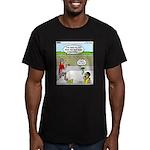Hot SCUBA Men's Fitted T-Shirt (dark)