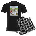 Hot SCUBA Men's Dark Pajamas