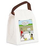 Hot SCUBA Canvas Lunch Bag