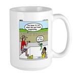 Hot SCUBA Large Mug
