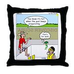 Hot SCUBA Throw Pillow