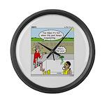 Hot SCUBA Large Wall Clock