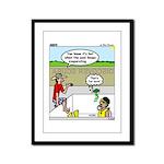 Hot SCUBA Framed Panel Print