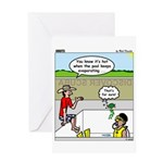 Hot SCUBA Greeting Card