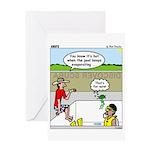 Hot SCUBA Greeting Card