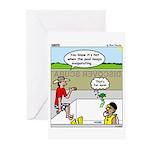 Hot SCUBA Greeting Cards (Pk of 20)