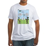 Lunch Airlift Fitted T-Shirt