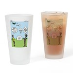 Lunch Airlift Drinking Glass