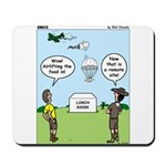 Lunch Airlift Mousepad