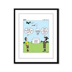 Lunch Airlift Framed Panel Print