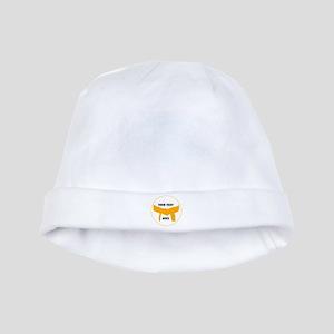 Custom Martial Arts Orange Belt baby hat