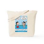 Campsite SCUBA Tote Bag