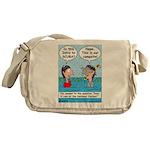 Campsite SCUBA Messenger Bag