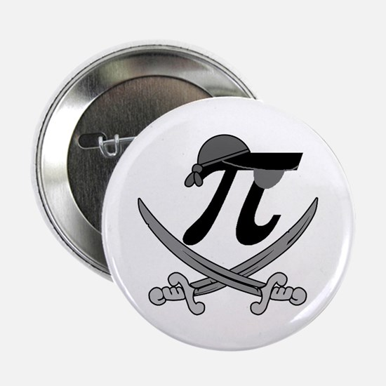 """Pi - Rate Greyscale 2.25"""" Button"""
