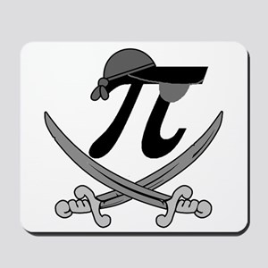 Pi - Rate Greyscale Mousepad