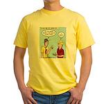 New Technology Yellow T-Shirt