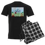 Jamboree Gateway Men's Dark Pajamas