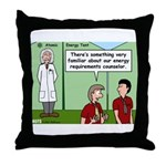 Atomic Energy Throw Pillow