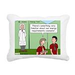 Atomic Energy Rectangular Canvas Pillow