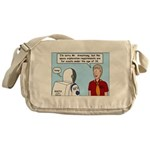 Space Exploration Messenger Bag
