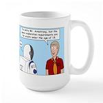 Space Exploration Large Mug