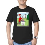 Jamboree Washing Machine Men's Fitted T-Shirt (dar