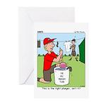 Jamboree Washing Machine Greeting Cards (Pk of 10)