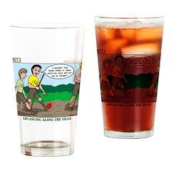 Tenderfoot Drinking Glass