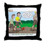 Tenderfoot Throw Pillow