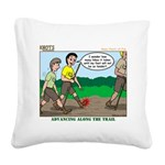 Tenderfoot Square Canvas Pillow
