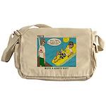 Smile Swim Messenger Bag