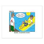 Smile Swim Small Poster