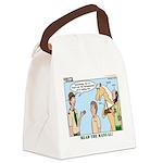 Horsemanship Canvas Lunch Bag