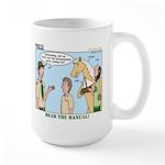 Horsemanship Large Mug
