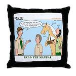 Horsemanship Throw Pillow