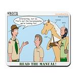 Horsemanship Mousepad