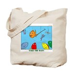 Hooked on Scouts Tote Bag