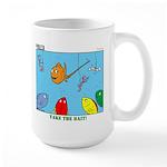 Hooked on Scouts Large Mug