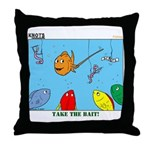 Hooked on Scouts Throw Pillow