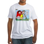Backpacking Surprise Fitted T-Shirt