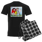 Backpacking Surprise Men's Dark Pajamas