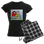 Backpacking Surprise Women's Dark Pajamas