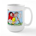 Backpacking Surprise Large Mug