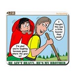 Backpacking Surprise Mousepad