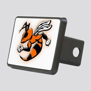 Glowing Hornet Rectangular Hitch Cover