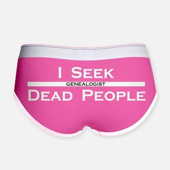 I Seek Dead People Women's Boy Brief