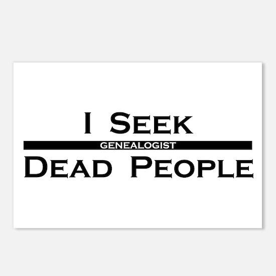 I Seek Dead People Postcards (Package of 8)